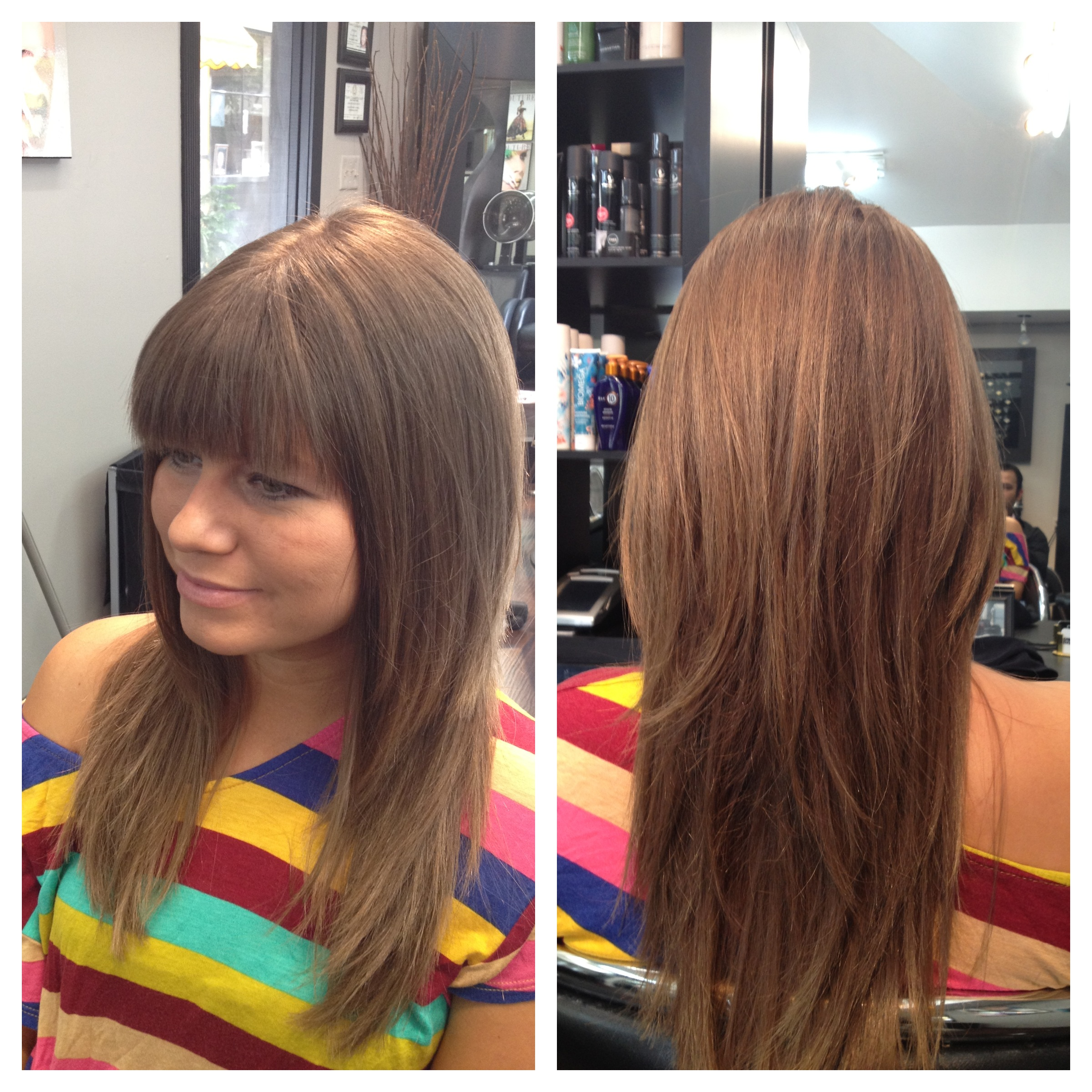 Hair Color Salon Houston with Clip In Extensions Human Hair Full Head ...